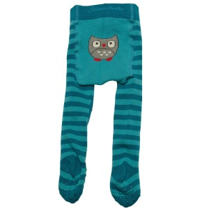 Turquoise Crawling Tights