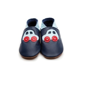 car navy baby blue shoes