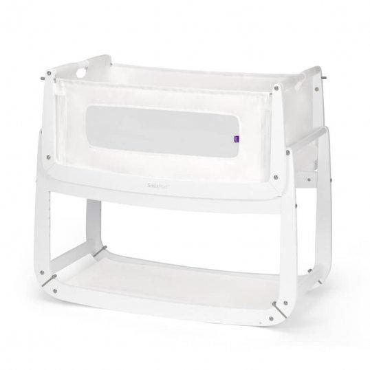 SnuzPod3 Bedside Crib White