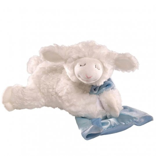 LENA PRAYER LAMB (BLUE)