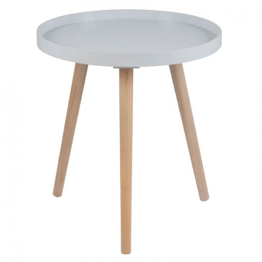 Retro Grey Round Large Table