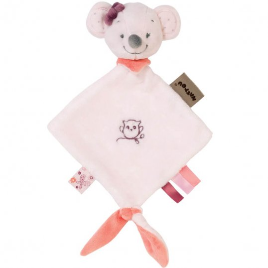 Mini Doudou Valentine The Mouse