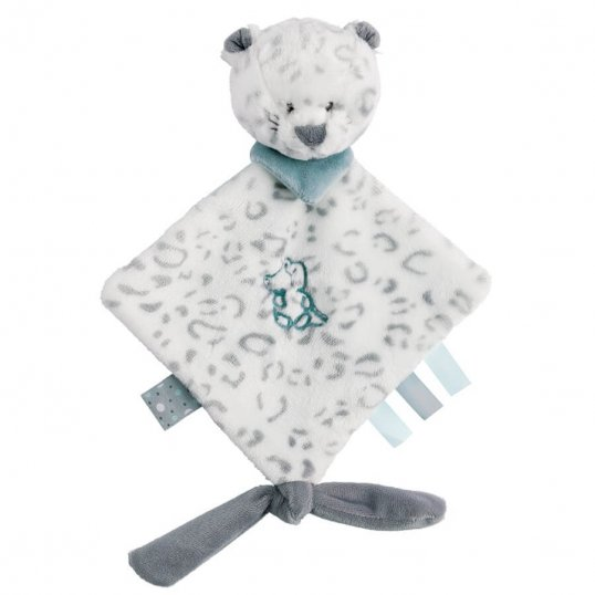Mini Doudou Snow Leopard