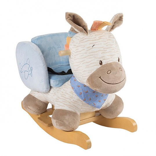 Nattou – Arthur the Zebra Rocker