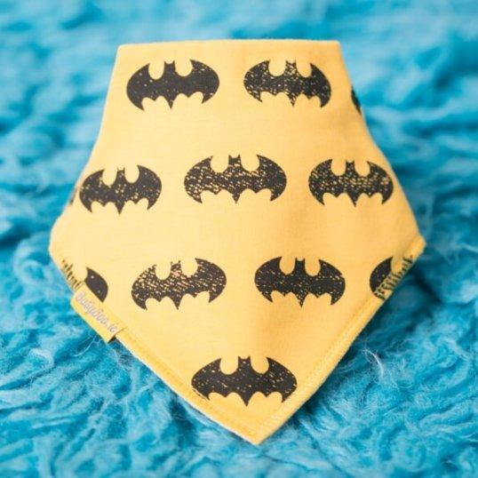 BABYBOO Vintage Batman Bandana Bib