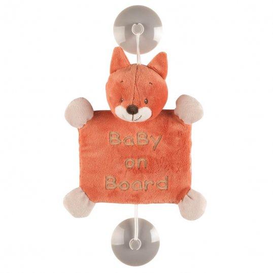 Baby on Board Oscar the Fox