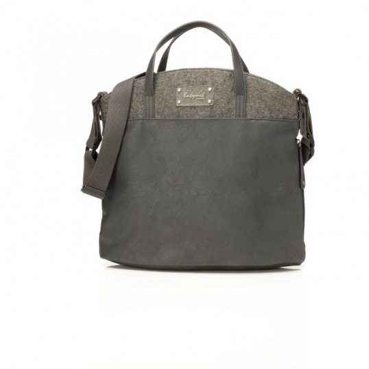 Babymel Grace Changing Bag – Grey_Cribs.ie (1)