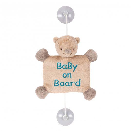 Basile the Bear Baby on Board
