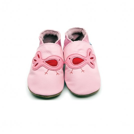 Bird Baby Pink Shoes