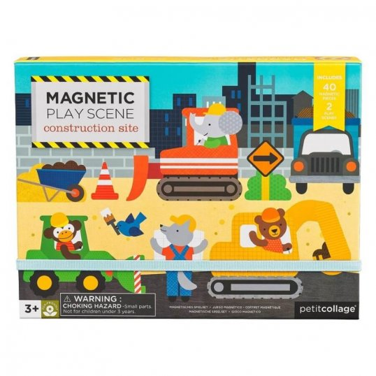 Construction Site Magnetic Play Set1