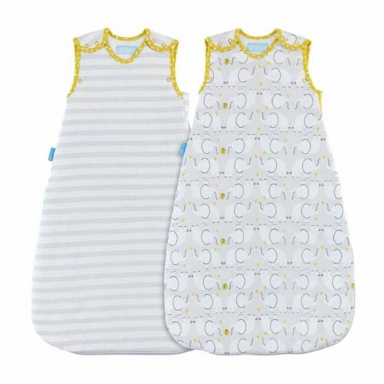 Elephant Love – Day & Night Twin Pack 1 Tog & 2.5 Tog