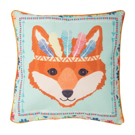 FOX ANIMAL CUSHION