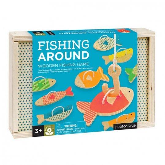 Fishing Around Wooden Fishing