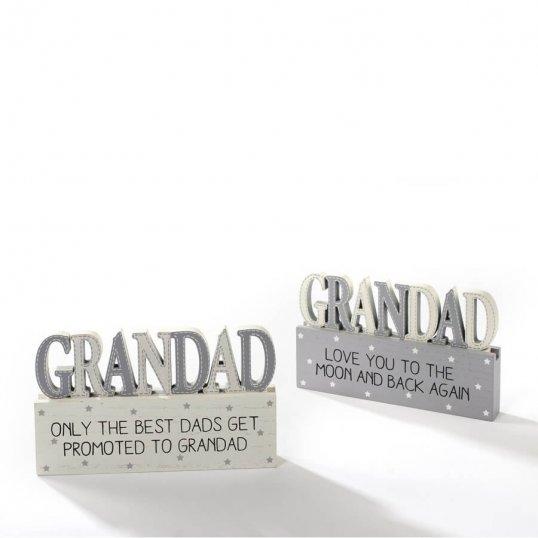Grandad Block Sign
