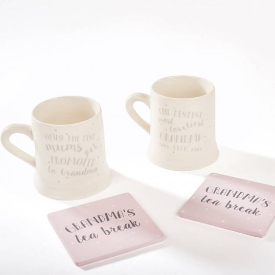Grandma Mug and Coaster Set