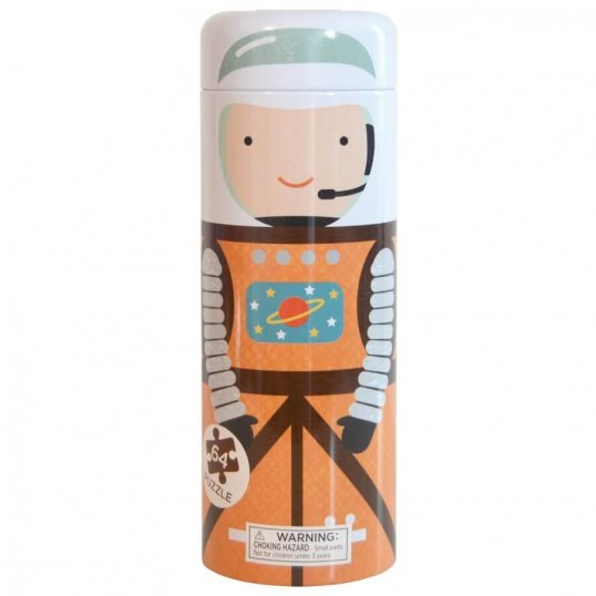 Into Space Family 64-Piece Tin Canister