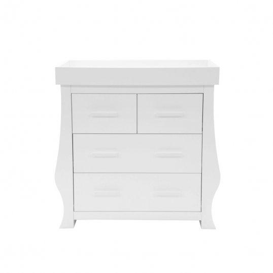 Sleigh Dresser Changer White