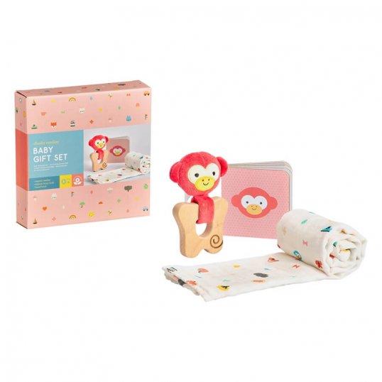 Little Monkey Baby Gift Set_2