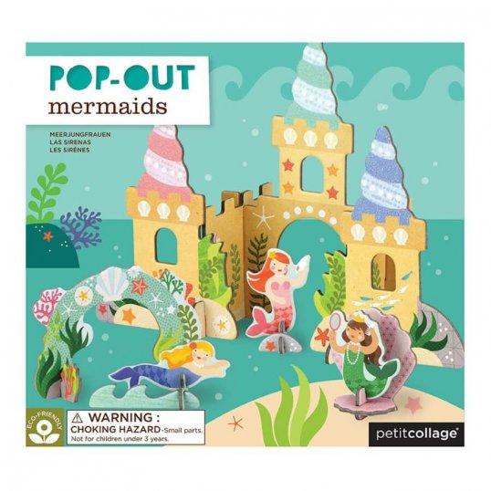 Pop-Out Mermaids Play Set