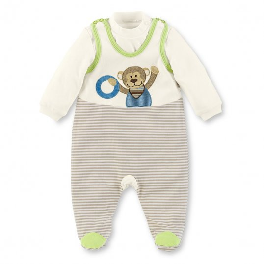 Monkey Dungarees Set-Cribs.ie