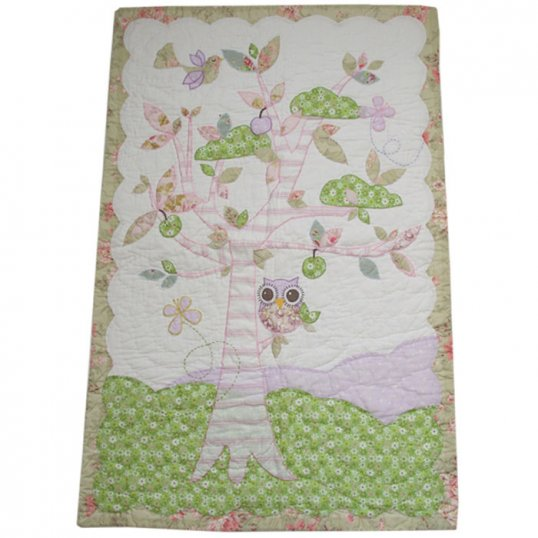 OWL QUILT_Cribs.ie