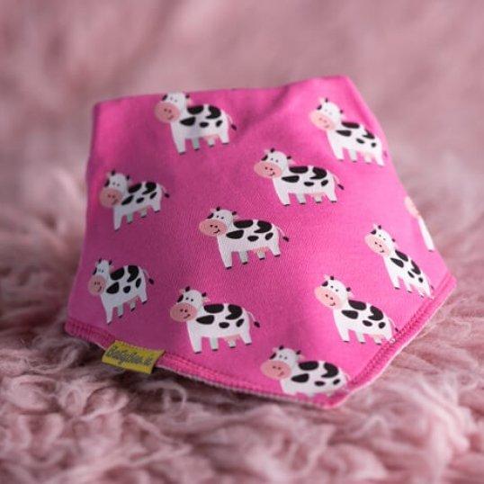 BABYBOO Pink Bessie Cow