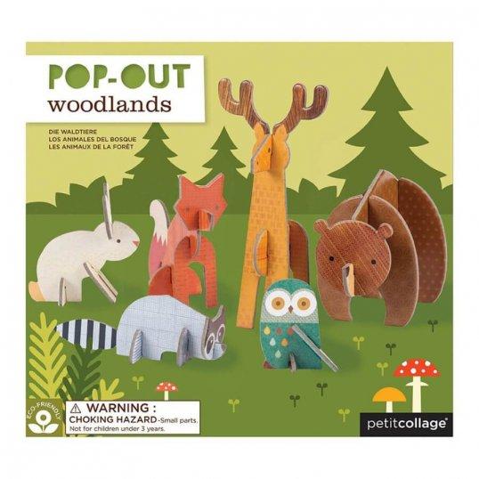Pop-Out Woodlands Play Set