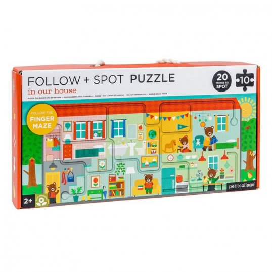 In Our House Follow & Spot Puzzle