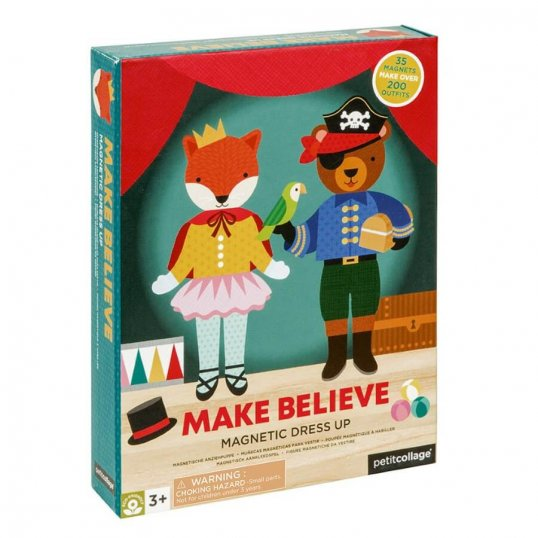 Make Believe Magnetic Dress Up Play