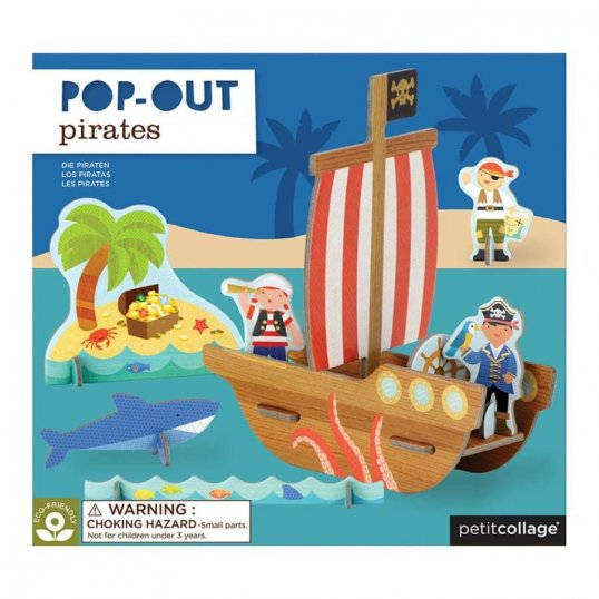 Pop-Out Pirates Play Set