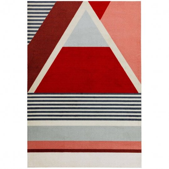 Riley Red Rug 120 x 170