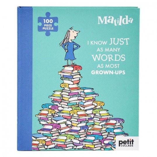Roald Dahl Matilda 100-Piece Book Puzzle