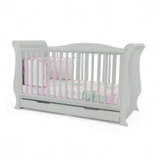 Sleigh Cotbed Grey