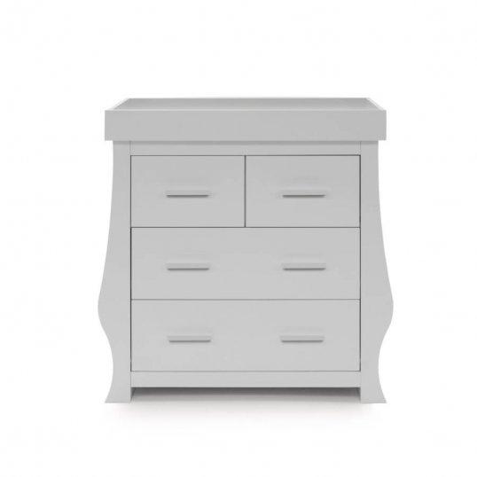 Sleigh Dresser Changer Grey