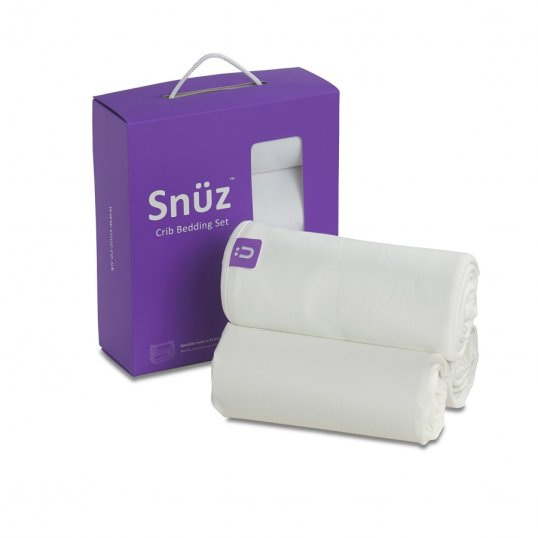 Snuz Bedding White resized