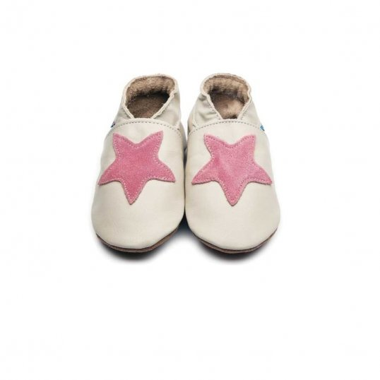 Starry Cream Dusky Pink Shoes