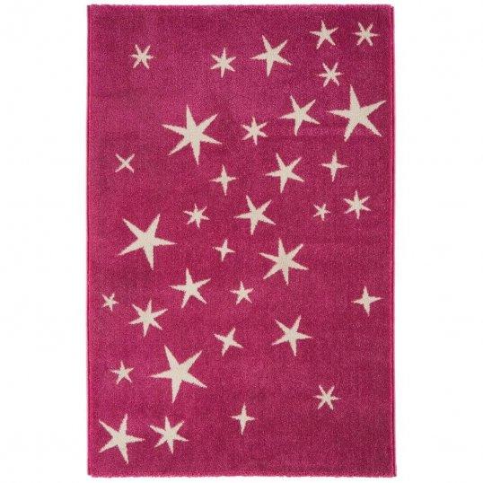 Stars Pink Rug 100 x 150