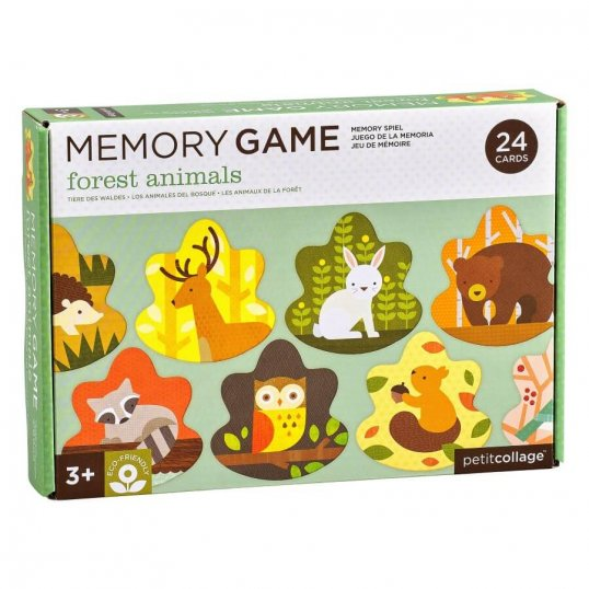memory game forest animals