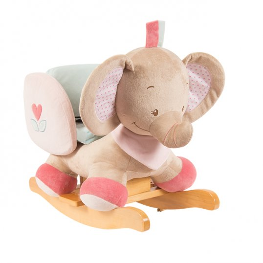 Nattou – Rose the Elephant Rocker
